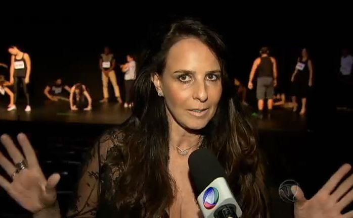 A jurada Fernanda Chamma.