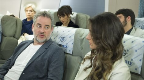 Eugênio (Dan Stulbach) e Joyce (Maria Fernanda Cândido) em cena de 'A Força do Querer' (Foto: Globo/Estevam Avellar)