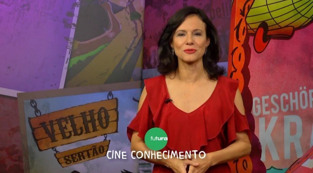 A apresentadora Lorena Calábria está no Canal Futura. (Foto: Reprodução)