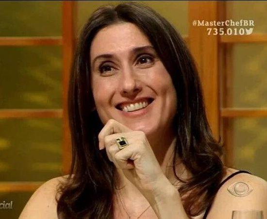 Paola Carosella do Masterchef da Band