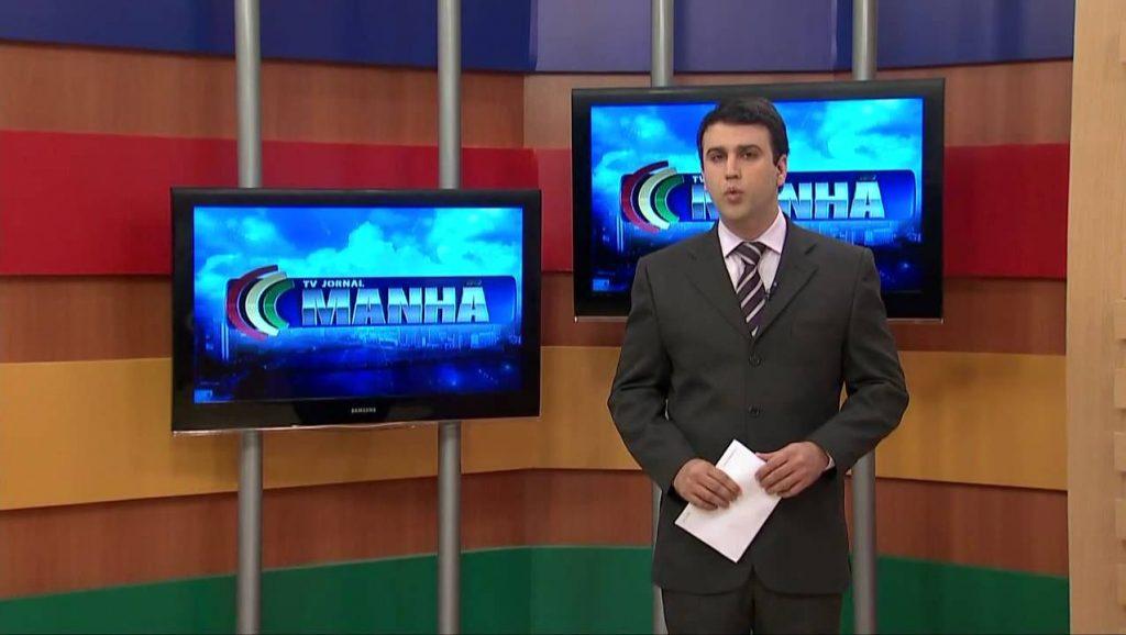 TV Jornal Manhã, afiliada do SBT (Foto: Reprodução/TV Jornal)