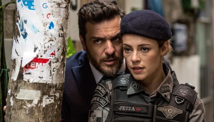 """Caio (Rodrigo Lombardi) e Jeiza (Paolla Oliveira) em cena de """"A Força do Querer"""" (Foto: Fábio Rocha/Gshow)"""