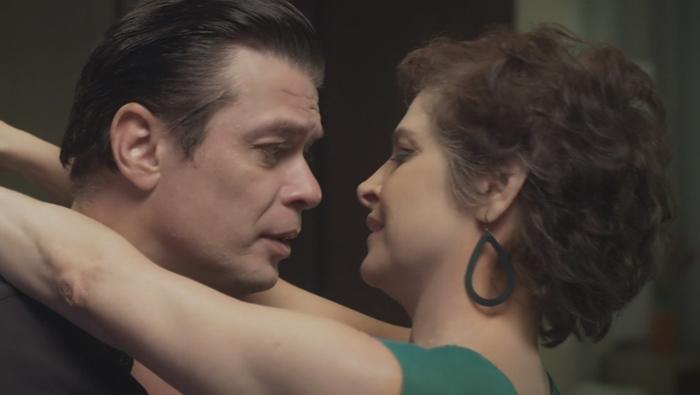 """Fábio Assunção (Ricardo) e Drica Moraes (Angélica) no último episódio de """"A Fórmula"""" (Foto: Divulgação/Globo)"""
