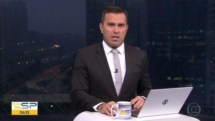 O jornalista da Globo Rodrigo Bocardi (Foto: Reprodução)