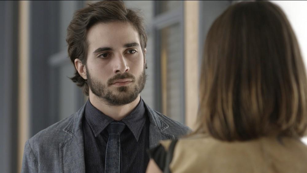 """Ruy (Fiuk) e Cibele (Bruna Linzmeyer) em cena de """"A Força do Querer"""" (Foto: Divulgação/Globo)"""