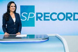 Record Cecato. Foto do site da O TV Foco que mostra Com o fim do SP Record, futuro de Carla Cecato causa dúvida