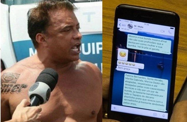 Deputado é flagrado, ao vivo, pedindo nudes e citando apresentadoras de TV
