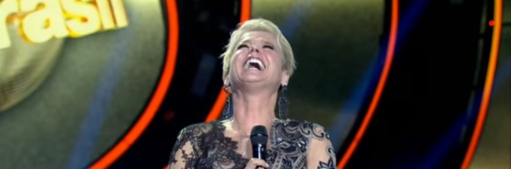 """Xuxa durante o """"Dancing Brasil"""". (Foto: Reprodução/Record)"""