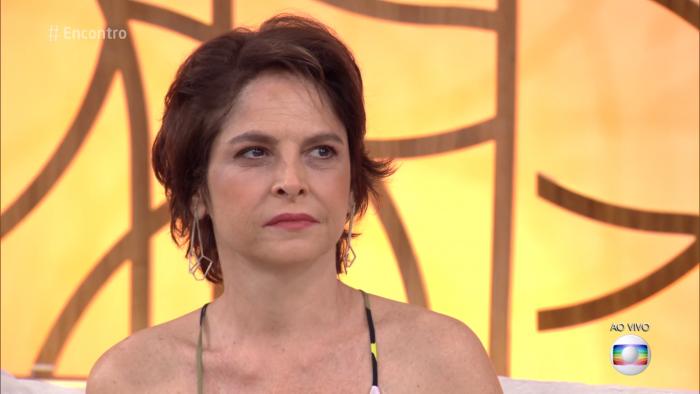 """Drica Moraes. Foto do site da O TV Foco que mostra Drica Moraes está com 48 anos e faz declaração sobre """"velhice"""""""