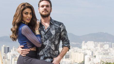 """Bibi (Juliana Paes) e Rubinho (Emílio Dantas) em """"A Força do Querer"""" (Foto: Globo/Mauricio Fidalgo)"""