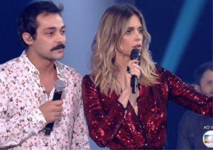 Eduardo Sterblitch e Fernanda Lima no Amor & Sexo. (Foto reprodução)