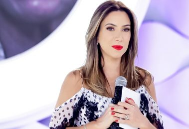 "Patricia Abravanel no comando do programa ""Eliana"" (Foto: Gabriel Cardoso/SBT)"