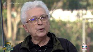 """O autor Aguinaldo Silva no """"Vídeo Show"""". (Foto: Reprodução/Globo)"""