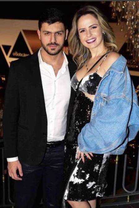 Ana Paula Renault e Mohamed Ibrahim El Turk. Foto: reprodução/instagram