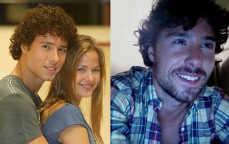Bernardo Melo Barreto, de Malhação, antes e depois (Foto: Divulgação)