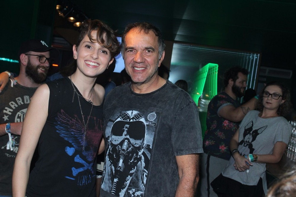 Carol Duarte e Humberto Martins (Foto: Marcelo Sá Barreto / Divulgação / Heineken)