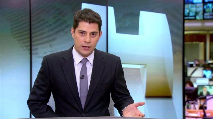 O ex-apresentador e jornalista da Globo, Evaristo Costa (Foto: Reprodução/TV Globo)