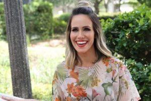 """Fernanda Pontes. Foto do site da O TV Foco que mostra Nos EUA, Fernanda Pontes revela: """"Não penso em voltar a atuar"""""""