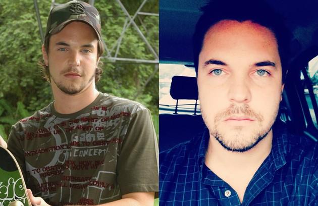 Antes e depois de Gabriel Wainer (Foto: Divulgação)