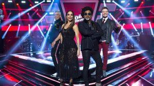 Lulu Santos, Ivete Sangalo, Carlinhos Brown e Michel Teló no 'The Voice Brasil' (Foto: Globo/Mauricio Fidalgo)