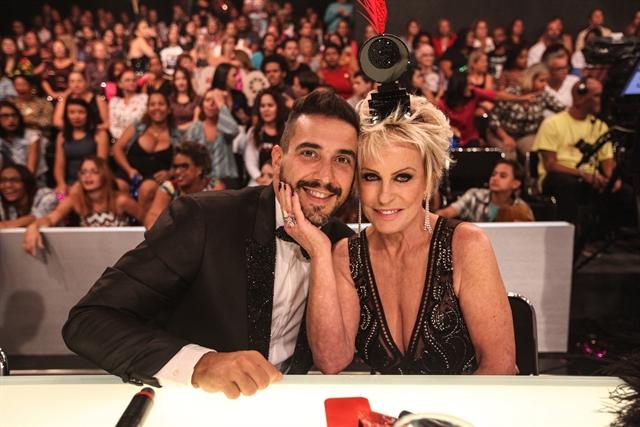 André Marques e Ana Maria Braga (Foto: Globo/Pedro Curi)