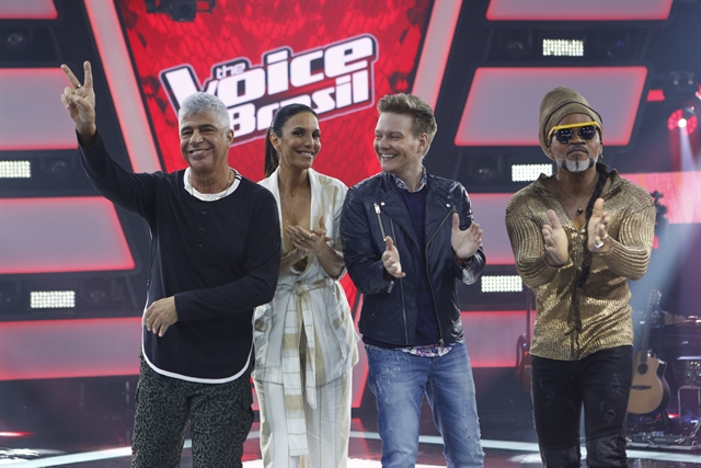 Lulu Santos, Ivete Sangalo, Michel Teló, Carlinhos Brown (Foto: Globo/Fabio Rocha)