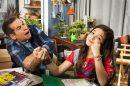 """Leandro Hassum e Mel Maia em """"A Cara do Pai"""" (Foto: Globo/Estevam Avellar)"""