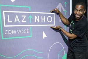Lázaro Ramos lança Lazinho com Você. (Foto: Roberto Filho/BrazilNews)