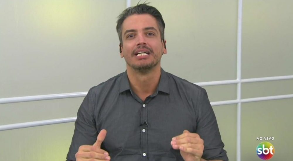 O apresentador Leo Dias (Foto: Reprodução/SBT)