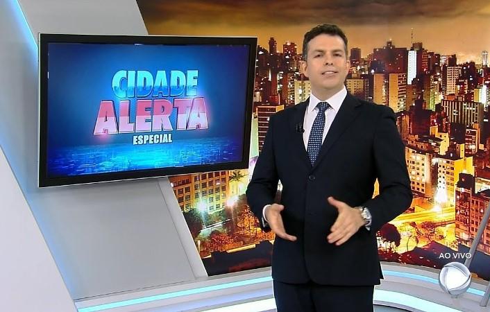 Matheus Furlan na TV. Foto - reprodução.