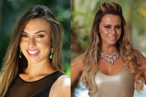 Celebridades Record. Foto do site da O TV Foco que mostra Nicole Bahls revela verdadeiro motivo das brigas com Viviane Araújo