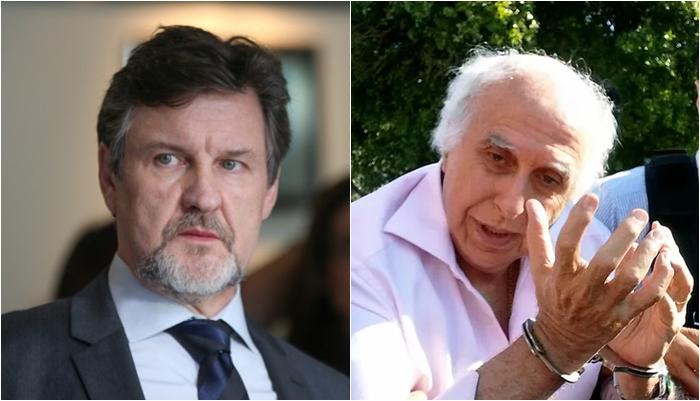 Antonio Calloni e o ex-médico Roger Abdelmassih. (Foto: Montagem/Divulgação)