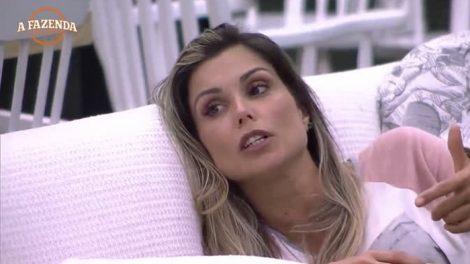 """Flavia Viana em """"A Fazenda - Nova Chance"""". (Foto: Reprodução/A Fazenda/Record)"""