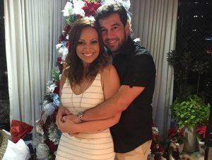 Solange Almeida e Leandro Andriani (Foto: Reprodução)
