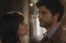 """Lucinda (Andreia Horta) e Inácio (Bruno Cabrerizo) em cena de """"Tempo de Amar"""" (Foto: Reprodução/Globo)"""