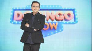O apresentador Geraldo Luís no Domingo Show (Foto: Edu Moares/Record)