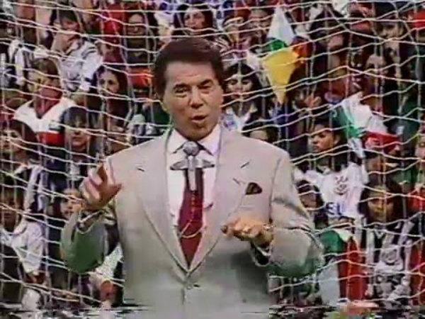 """Silvio Santos e o """"Gol Show"""" (Foto: Divulgação)"""