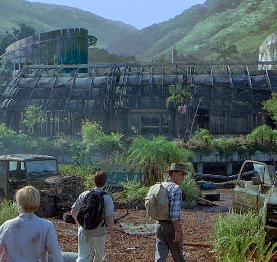 Cena do filme Jurassic Park, O Parque dos Dinossauros (Foto: Divulgação/Universal Pictures)