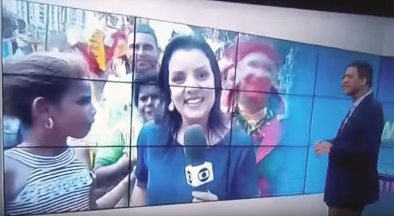 Ato de violência sexual cometida por pedófilo  aconteceu ao vivo (Foto: Reprodução/Globo Nordeste)