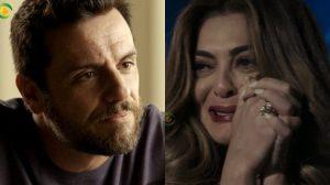 Caio (Rodrigo Lombardi) e Bibi (Juliana Paes) em A Força do Querer (Foto: Reprodução/Globo/Montagem/TV Foco)