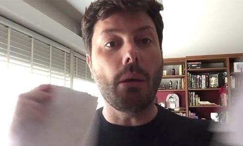 O apresentador Danilo Gentili (Foto: Reprodução)