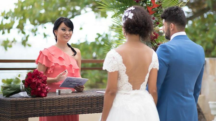 Geovanna agora é casamenteira. (Foto: Denise Ricardo/ Divulgação)