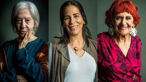 Mercedes (Fernanda Montenegro), Elizabeth (Gloria Pires) e Caetana (Laura Cardoso) (Foto: Globo/Raquel Cunha)