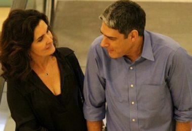 Fátima Bernardes e William Bonner (Foto: Reprodução)