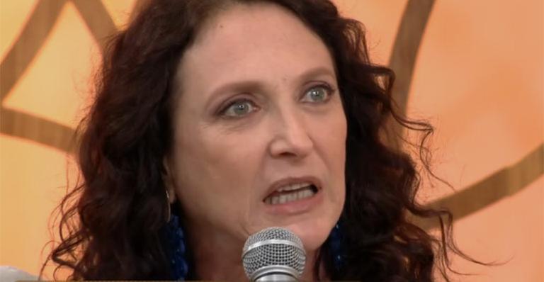 Débora Olivieri está no elenco da novela Deus Salve o Rei. (Foto: Reprodução/TV Globo)