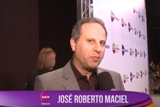 José Roberto Maciel, vice-presidente do SBT (Foto: Reprodução)
