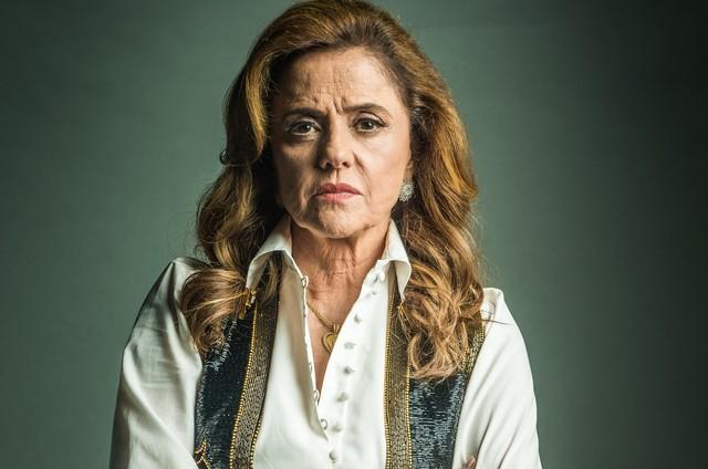 Marieta Severo como Sophia em O Outro Lado do Paraíso (Foto: Reprodução)