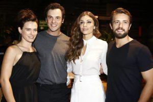 """Bianca Bin, Sergio Guizé, Grazi Massafera e Rafael Cardoso serão protagonistas de """"O Outro Lado do Paraíso"""". (Foto: Divulgação)"""