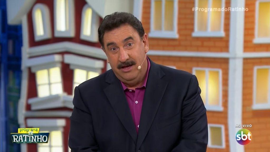 Ratinho diz que faz um ano que não fala com Silvio Santos e revela se irá para os domingos do SBT