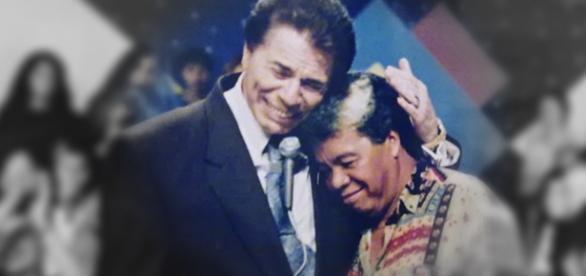 Roque, que está internado, é amigo de Silvio Santos. (Foto: Reprodução)